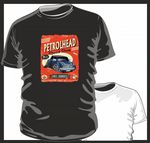 KOOLART PETROLHEAD SPEED SHOP CLASSIC MINI COOPER UJ mens or ladyfit t-shirt